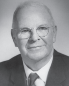 Photo of P.A. Woodward ca.1960